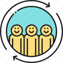 group, people, team, workgroup icon