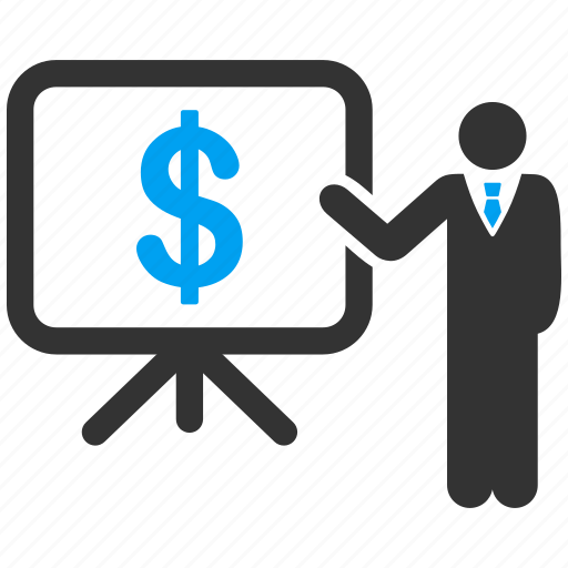 budget, business plan, concept, marketing, presentation, public report, strategy icon