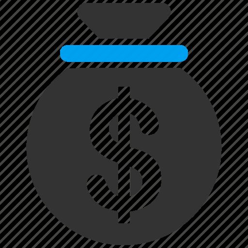 bank, banking, deposit, dollar, finance, money bag, payment icon