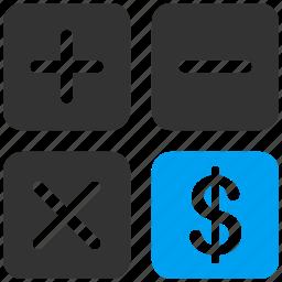accounting, calc, calculate, compute, finance, financial calculator, money icon