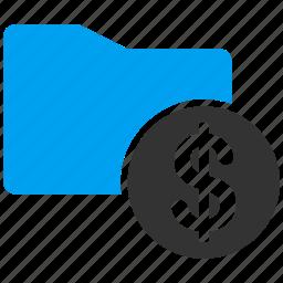 cash, finance, financial folder, money, purse, wallet, wealth icon
