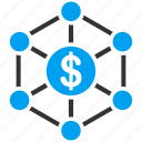 bank payments, banking, business, finance, financial network, payment, web icon
