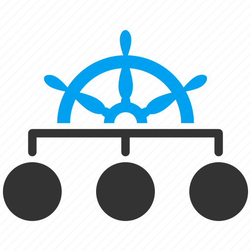 boat captain, drive, driver, hierarchy, ship control, steering wheel, transport icon