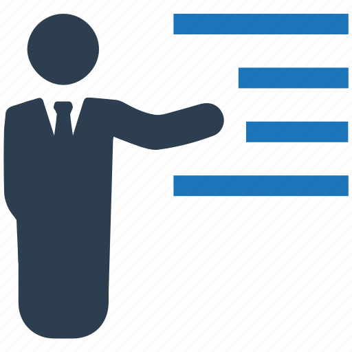 business, conference, presentation icon