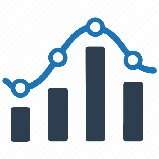 bar chart, diagram, graph, statistic icon