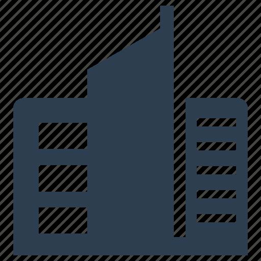 architecture, building, city, real estate icon