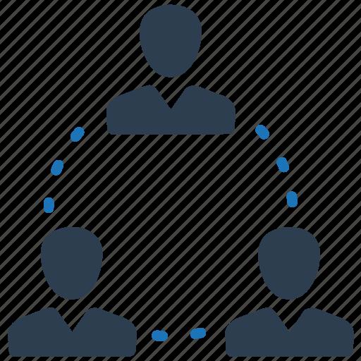 communication, network, teamwork icon