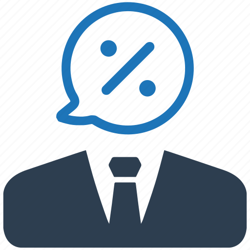 business, discount, offer icon