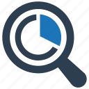 analysis, marketing, research icon