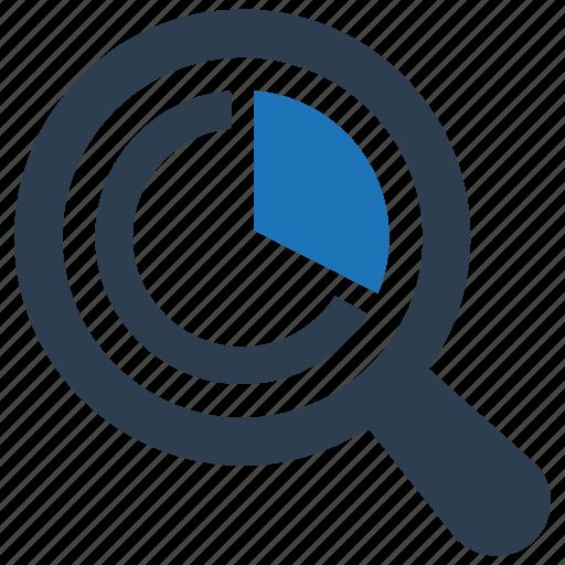 analysis, marketing, research icon