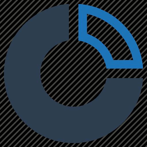 analytics, financial report, pie chart, statistics icon