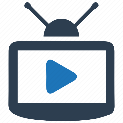broadcast, media, television, tv icon