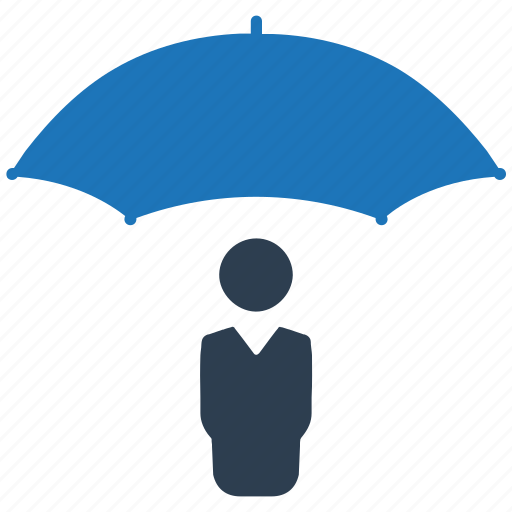business, insurance, protection, shield icon