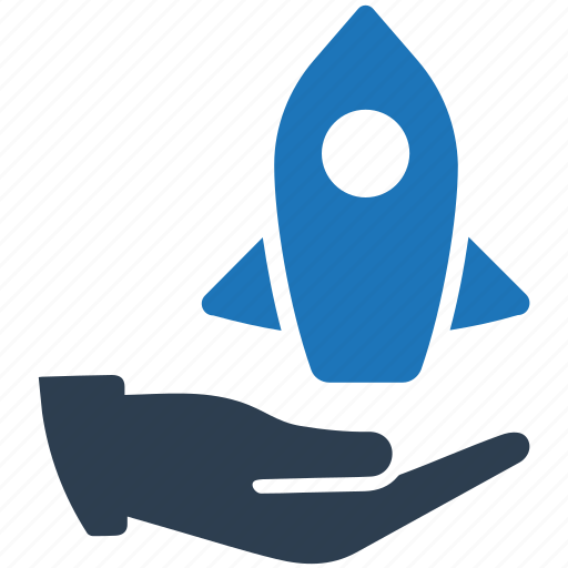 business, launch, project, startup icon