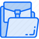 business, company, files, folder, information icon