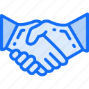 business, confirm, deal, handshake, secure icon