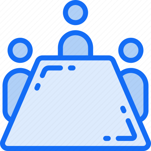 board, business, conference, meeting, room icon