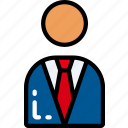 briefcase, business, businessman, mobile, suit icon
