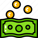 banking, business, coins, money icon