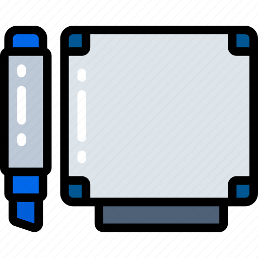 board, business, conference, room, whiteboard icon