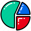 business, data, graph, information, research, results icon