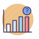 analysis, analytics, chart, diagram, market, prediction, stats icon
