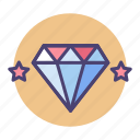 diamond, high quality, premium, premium quality, quality, valuable, value icon
