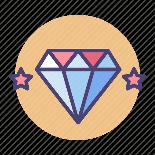 diamond, high quality, premium, premium quality, quality, valuable, value icon