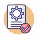 assurance, control, qc, quality, quality assurance, quality control icon