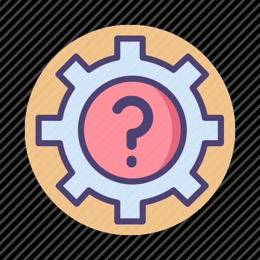 faq, help, info, support icon