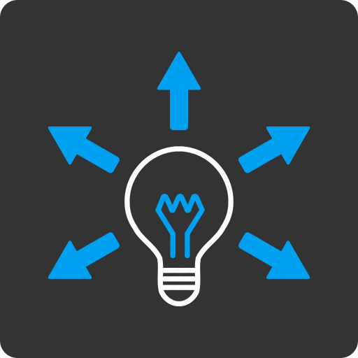 electric, electricity, idea, light bulb, power, science, tip of the day icon