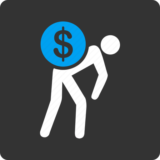 business, courier, delivery, finance, money, payment, transportation icon