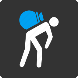bag, porter, service, traffic, transport, warehouse, worker icon