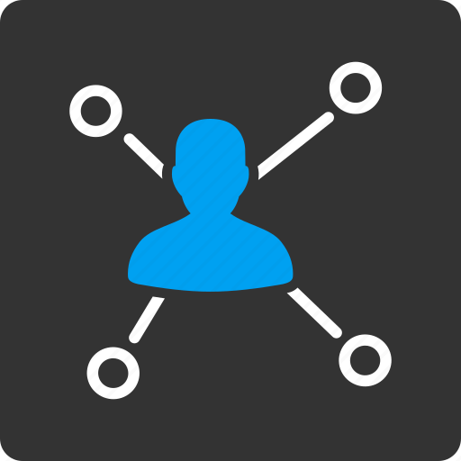 connect, connection, graph, group, link, relations, structure icon