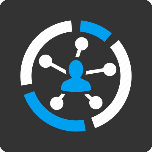 analytics, chart, connection, data, graph, infographic, relations diagram icon