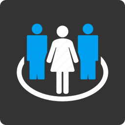 community, company, group, people, society, team, users icon
