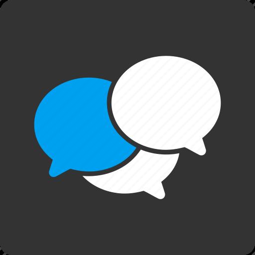 chat, comment, communication, forum, message, talk, webinar icon