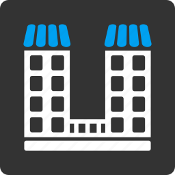 address, building, business, company office, home, house, real estate icon