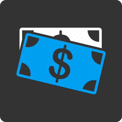 business, cash, currency, dollar banknotes, finance, financial, money icon