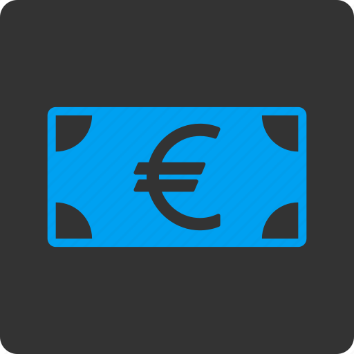 bank, business, cash, currency, euro banknote, finance, money icon