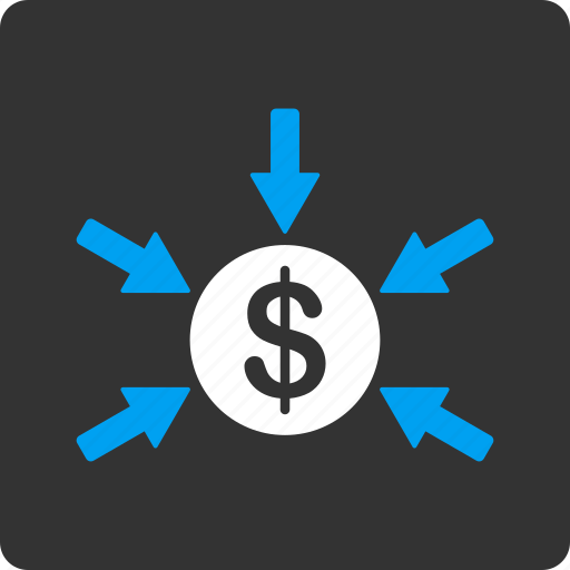 deposit, gain, income, money, payment, percent, profit icon