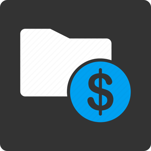 cash, document, dollar, file, finance, folder, money icon