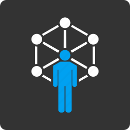 communication, man, network, person, system, user, web icon