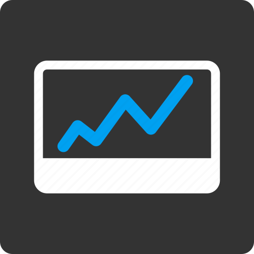 business chart, diagram, graph, growth, report, stock market, success icon