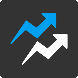 chart, diagram, graph, market trends, sale report, statistic, trend icon