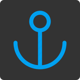 anchor, link, marine, nautical, navigation, sea port, seo icon
