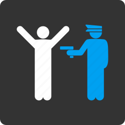 captain, guard, military, officer, police, security, soldier icon