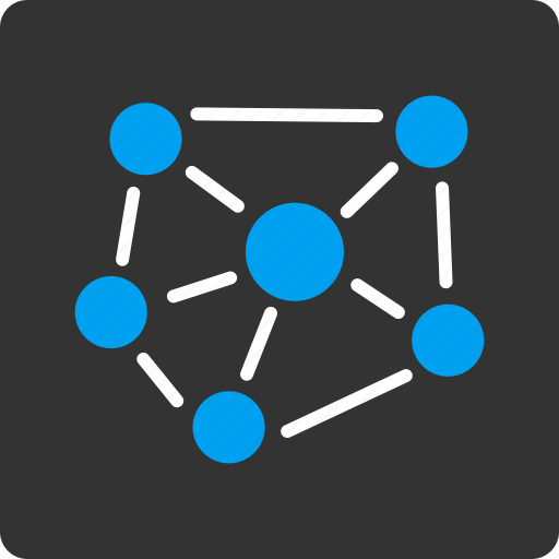 chart, communication, graph, network, social media, statistics, web icon