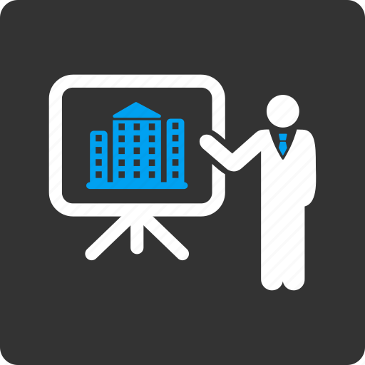 architecture, building, conference, construction, house, presentation, report icon