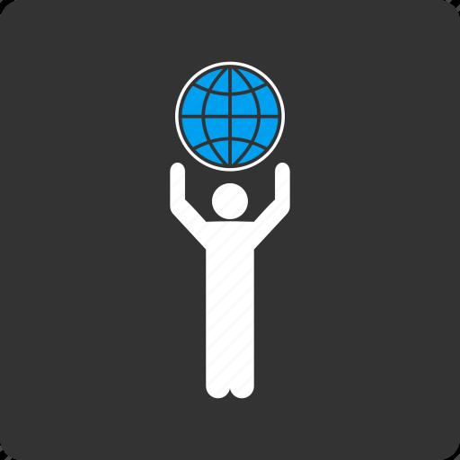 earth, global, globalist, globe, international, navigation, world map icon